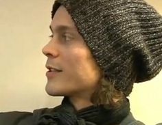 ville valo... I think its all his knit hats that really do me in....