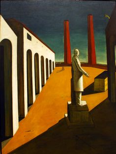 Metafisica: Giorgio de Chirico - The Enigma of a Day