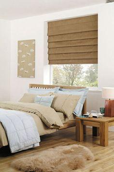 Schlafzimmer Fenster Sichtschutz Raffrollos