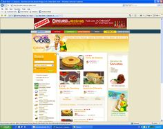 Banner do Concurso de Receitas Tabasco para o site Mais Você da Ana Maria Braga. (2011)
