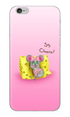 'Tiny Sweet Mice on a Tiny Cheesy Pillow' iPhone Case by We ~ Ivy Iphone6, Iphone Skins, Mice, Girly Girl, Tech Accessories, Finding Yourself, Cheese, Technology, Stickers