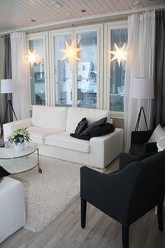 SisustusUnelmia - CASA Blogit Future House, My House, Living Area, Living Rooms, Home Theater, Scandinavian Design, Sweet Home, House Ideas, Space
