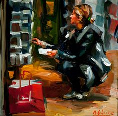 Edward B. Gordon does a painting a day.  Check it out!