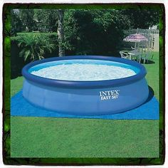 """Swimming Pool Intex 18' X 48"""" Round Easy Set Above Ground ONLY Replacement"""