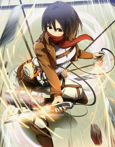 Home Decor Attack on Titan Shingeki no Kyojin Cosplay Wall Scroll Poster Mikasa Ackerman X Mikasa, Manga Anime, Anime Art, Hakkenden, 07 Ghost, Humanoid Creatures, Girls Anime, Attack On Titan Art, Manga Characters