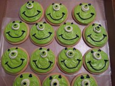 Monsters Inc. biscuits
