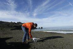 California Residents Turn to Drones to Document Coastal Erosion  - NBC News