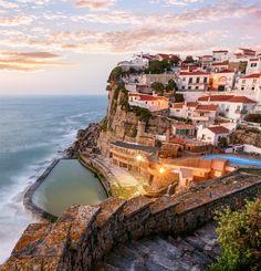 Azenhas Do Mar, Sintra, Portugal | 20 Most Stunning Cliffside Villages