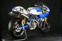 "motographite: DUCATI SPORT CLASSIC 1100 ""NEW BLUE"" by NCR"