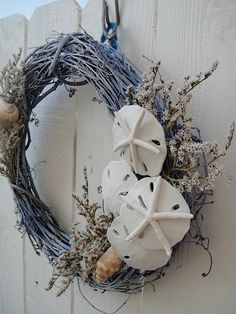 Sea Shell Wreath by donnahubbard on Etsy, $50.00