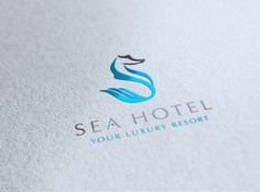 Sea Hotel | #corporate #branding #creative #logo #personalized #identity #design #corporatedesign < repinned by an #advertising agency from #Hamburg / #Germany - www.BlickeDeeler.de | Follow us on #Facebook > www.facebook.com/BlickeDeeler