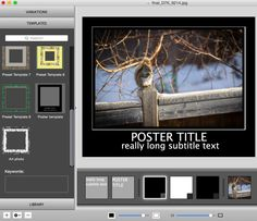 Apparent Software - Page 3 of 11 - Page 3, Photo Art, Software, Photos, Pictures, Poster, Billboard, Grimm