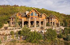 Dream home by Montana log homes