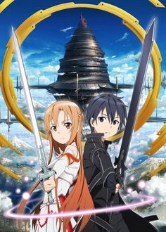 Sword Art Online: One of my favorites, everybody needs to watch it! it's amazing!