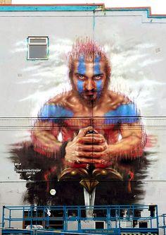 Dale Grimshaw - Street Art
