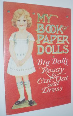 my book paper dolls