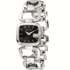 Gucci Women's YA125510 G-Gucci  Watch Gucci. $720.00. steel case. snapped caseback. Swiss Made Ronda movement. steel bracelet