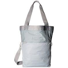 Manduka Be Ready Tote (Slate) Tote Handbags ($88) ❤ liked on Polyvore featuring bags, handbags, tote bags, cross-body handbag, coin pouch, tote handbags, crossbody tote bag and yoga tote