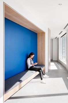 OnDeck Offices – Denver. Breakout space. Nook. Alcove seating.