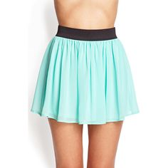 FOREVER 21+ PLUS SIZES Georgette Mini Skirt ($6.80) ❤ liked on Polyvore featuring skirts, mini skirts, bottoms, pastel, forever 21, georgette skirt, elastic waist skirt, blue mini skirt and plus size short skirts