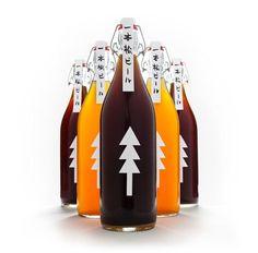 One Pine Tree Beer Packaging Design by Kota Kobayashi