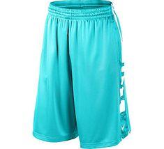 Men's Nike Elite Stripe Basketball Short | Scheels: Gamma Blue, Blue & Orange, or Flash Lime & Red Raspbery.
