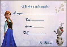 Post with 0 votes and 9053 views. Anna Frozen, Disney Frozen, Frozen Birthday Party, 4th Birthday, Candy Bar Frozen, Frozen Party Invitations, Frozen Theme, Ideas Para Fiestas, Elsa