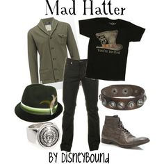 Mad Hatter, created by lalakay on Polyvore