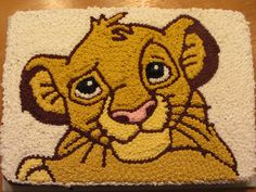 Simba cake Lion King Party, Lion King Birthday, Lion Cakes, Lion King Cakes, 4th Birthday Cakes, 6th Birthday Parties, Birthday Ideas, Pull Apart Cupcake Cake, Cupcake Cakes