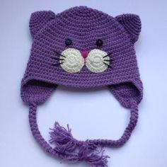 ~ ~ Crochet Cat hat ~~ @Katarzyna Szczytowska.nl
