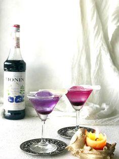 マジックカクテル❤夏休みの子供がきゃーきゃーっ|レシピブログ Cocktail Recipes, Cocktails, Drinks, Cafe Menu, Martini, Tableware, Glass, Blog, Food
