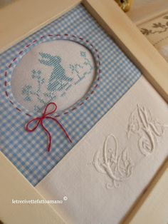 I want  to substitute the little rabbit embroidery with an hand painted porcelaine tile everything else is beautiful