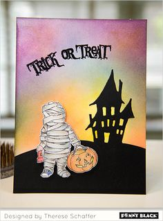 Eek! Boo! Trick or Treat! It's a week of spooktacular inspiration with the Penny Black designers featuring Halloween designs from our newest collection, Fall 2014. Downloadable supplies and instructions on our blog.