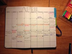 Bullet Journal Monthly Calendar- Future planning solved!