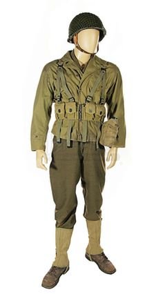 Saving Private Ryan Complete Ranger Costume