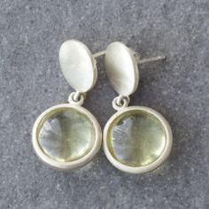 Halo Lemon Earrings Halo, Lemon, Label, Drop Earrings, Personalized Items, Silver, Collection, Jewelry, Jewlery