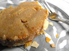 Torta de batata-doce com amêndoa... uma torta para o Tertúlia de Sabores da Moira