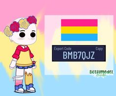 Hii gyus!!! I created that amazing Pansexual pride look, hope u gyus liked!! (oii pessoal! Eu criei este incrivel look do orgulho pansexual, espero que vocês gostaram) Cute Walpaper, Lgbtq Flags, Club Hairstyles, Pride Outfit, Club Face, Club Design, Anime Girl Drawings, Wallpaper Iphone Cute, Character Outfits