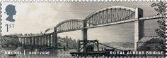 Sello del Royal Albert bridge
