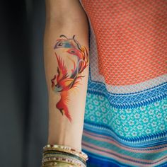 150 Artistic Watercolor Tattoos Ideas awesome