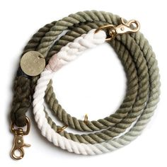 Luigi told me he really wants this Olive Ombre Rope Dog Leash from Found My Animal. $62