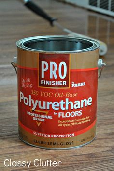 How to refinish wood floors – part 2 | Classy Clutter