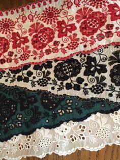 OE0023 東欧調レース #miyaco #lace #レース #embroidery