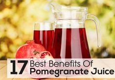 Drinking pomegranate juice benefits our health and skin in a myriad of ways. It is one of the few fruits whose juice is as beneficial as the fruit itself.  This is because the peel contains the maximum amount of antioxidants which are released in abundance when the fruit is squeezed while juicing. It is currently ranked alongside blue berries and green tea for its nutritional benefits. #homemadesparecipes #spa #beautyproducts