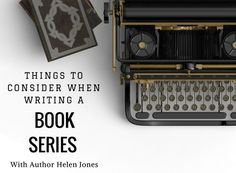 I love the idea of writing a book series. It's on my writer's bucket list. All I need to do is come up with an epic story, which could span several books. *Pained writer face* Speaking …