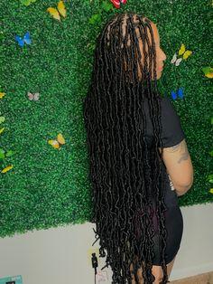 Cute Box Braids Hairstyles, Braided Hairstyles For Black Women Cornrows, Hair Ponytail Styles, Braids Hairstyles Pictures, Faux Locs Hairstyles, African Braids Hairstyles, Baddie Hairstyles, Curly Hair Styles, School Hairstyles