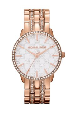 Michael Kors 'Lady Nini' Round Bracelet Watch, 35mm
