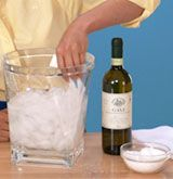 How to chill wine quickly (video & step-by-step)