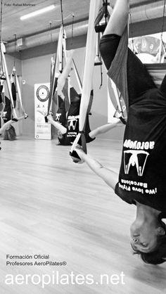 Foto: #RafaelMartinez, creador métodos #AeroPilates ® #AeroYoga ®, #Formación Oficial , #Cursos, Diploma homologado internacionalemente en #YogaAereo y #PilatesAereo ( #AerialYoga #AerialPilates )