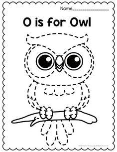 Alphabet Tracing Worksheets for Preschool and Kindergarten